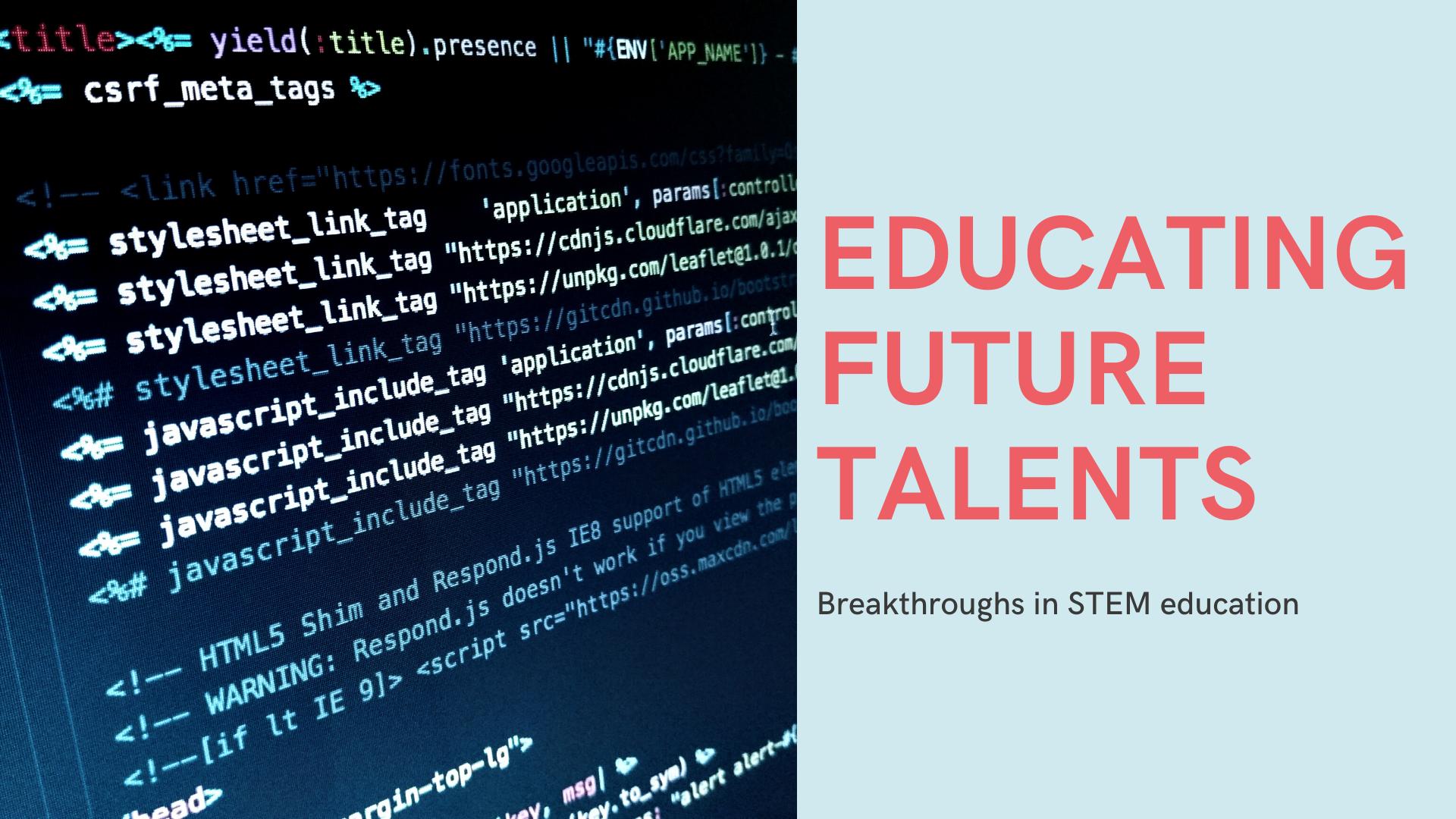 Educating future talents (1)